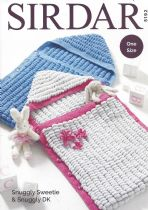 Sirdar Snuggly Sweetie - 5192 Sleeping Bags Knitting Pattern